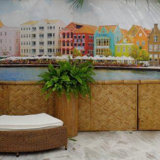 Foto van Decordoek Willemstad (2 delen) prijs per deel