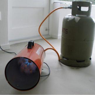 Foto van Heteluchtkanon met thermostaat 50 kW