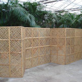 Foto van Bamboe schermen 180 cm