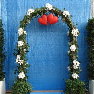 Foto van optie bij Trouwboog met kunstbloemen