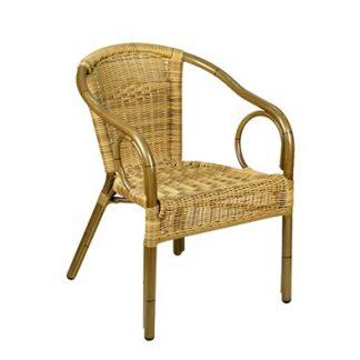 Foto van Rotan stoel (excl. kussen)