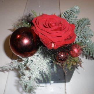 Foto van Kerststukje