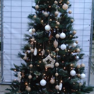 Foto van Kunstkerstboom zonder licht ca. 2.25 m