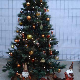 Foto van Kunstkerstboom met licht ca. 2.25 m