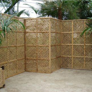 Foto van Bamboe schermen 90 cm