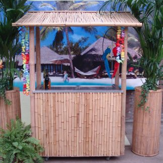 Foto van Bamboe bar met koeling 280 liter